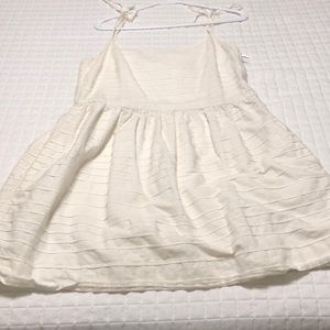 White Gap Dress Size 6